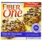 Fiber One Protein Chewy Bars Caramel Nut 5.85 OZ (Pack of 12)