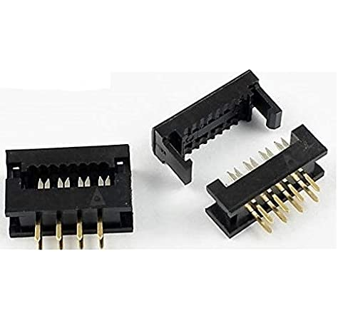 4 Contacts Through Hole 1 Rows, Wire-To-Board Connector 5-103414-2 AMPMODU MOD II Series 2.54 mm Pack of 20 Header