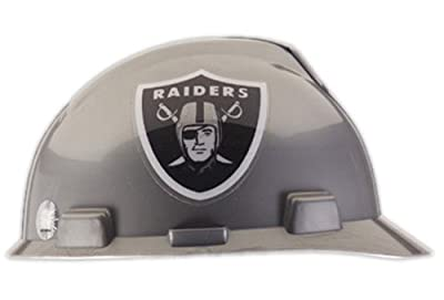 Safety Works NFL Hard Hat, Oakland Raiders