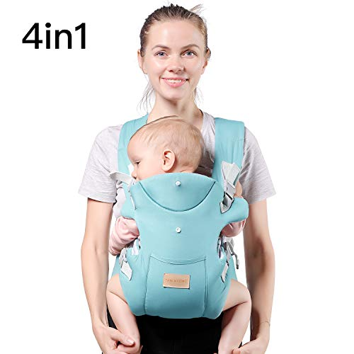 (TIANCAIYIDING Ergonomic Baby Carrier,Soft & Breathable Baby Carriers Backpack Front and Back for Infants to Toddlers Up to 44 lbs )