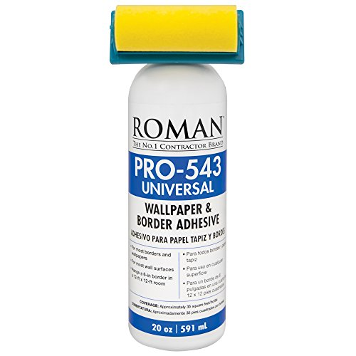 Roman PRO-543 20-ounce Universal Wallpaper Paste ()