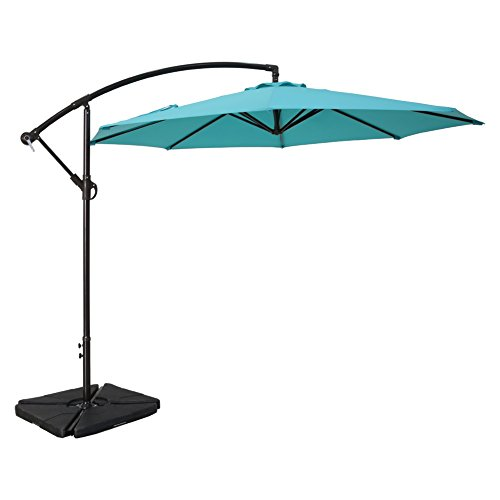 Sumbel Outdoor Living 10 Ft Patio Umbrella Offset Hanging
