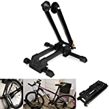 Wall of Dragon Floor Bike Stand Bike Storage Rack Folded Adjustable Parking Rack Indoor Storage Bicycle Holder Bicycle Accessories