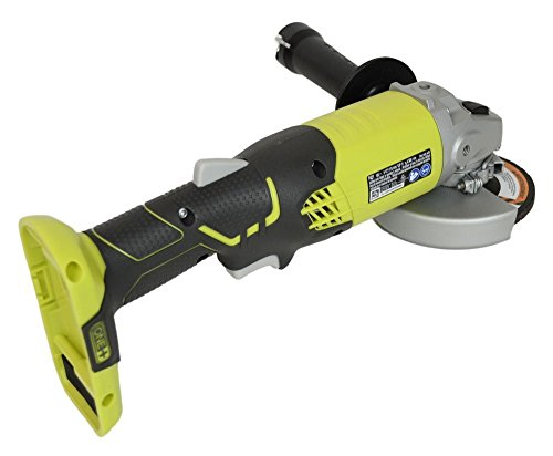 Ryobi ZRP421 ONE Plus 18V Cordless 4-1/2in Angle Grinder (Bare Tool) (Renewed)