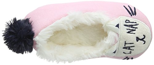 Pink Pink Cat Joules Character True Junior Slippers xHIw7ng1Yq