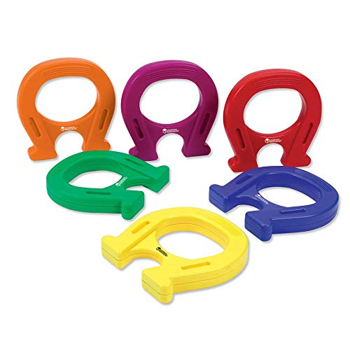 Learning Resources Horseshoe-Shaped Magnets, Set of 12 ()