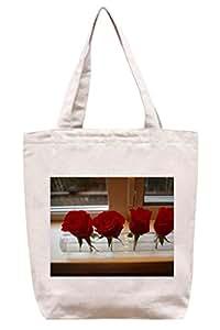 Cuatro Rosas–algodón Canvas Tote Bag