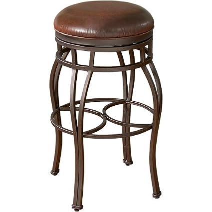 Astounding Amazon Com Delaware 30 Inch Swivel Leather Bar Stool Inzonedesignstudio Interior Chair Design Inzonedesignstudiocom