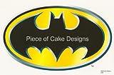no added sugar ice cream cups - 1/4 Sheet ~ Batman Classic Logo ~ Edible Image Cake/Cupcake Topper!!!