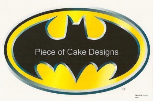 1/4 Sheet ~ Batman Classic Logo ~ Edible Image Cake/Cupcake Topper!!!