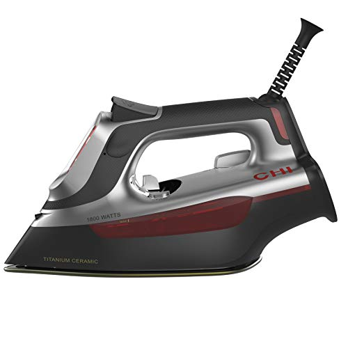 (CHI 13103 Touchscreen Clothing Iron Black and Gray)