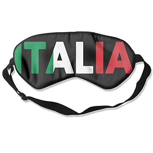 Sleep Mask Italia Italy Italian Flag Eye Cover Blackout Eye Masks,Soothing Puffy Eyes,Dark Circles,Stress,Breathable Blindfold For Women Men by MB32