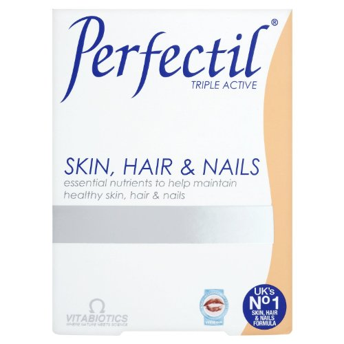 Vitabiotics Perfectil Tablets Healthy Skin Hair and Nails 30 Tablets by Perfectil