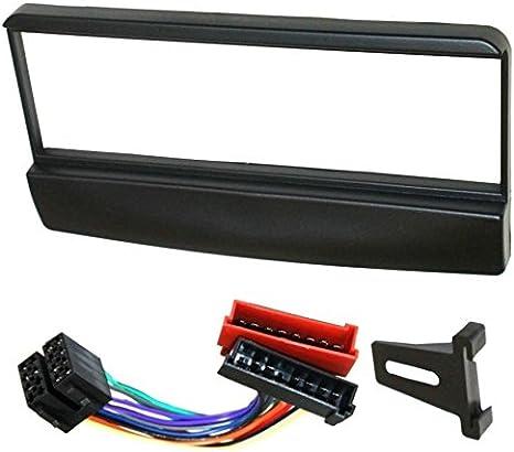 Aerzetix Adaptateur Autoradio Fa/çade Cadre R/éducteur 1DIN pour auto voiture
