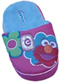 Sesame Street Womens Pink Elmo Slippers Slide On Open Back House Shoes Small 5-6