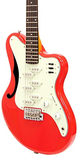 (Italia Imola Electric Guitar - Red)