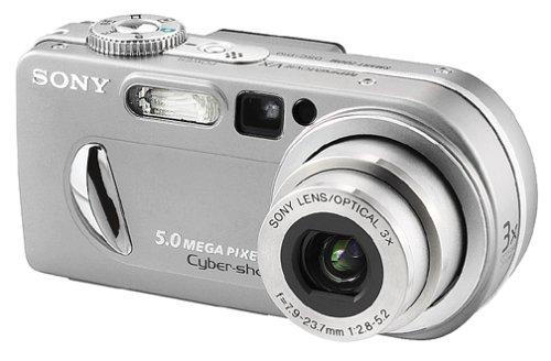 amazon com sony dscp10 cyber shot 5mp digital camera w 3x optical rh amazon com Cyber-shot Digital Camera HX200V Sony Cyber-shot DSC-WX80