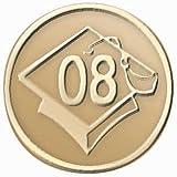 : Graduation 2009 Gold Seals 25ct
