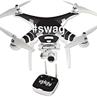 Skin For DJI Phantom 3 Professional – Swag | MightySkins Protective, Durable, and Unique Vinyl Decal wrap cover | Easy To Apply, Remove, and Change Styles | Made in the USA