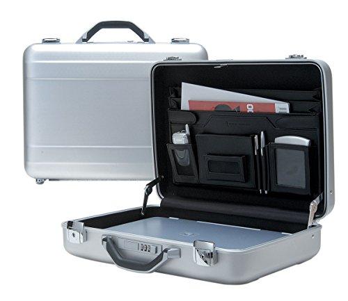 T.Z. Case International T.z Molded Aluminum Attache Case 18 X 13 X 5 in, Silver by T.Z. Case International