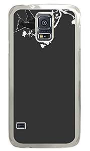 Gossamer-Noir-Feanne Clear Hard Case Cover Skin For Samsung Galaxy S5 I9600