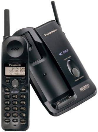 Panasonic kx-tc1486b 900 MHz Teléfono inalámbrico analógico con identificador de llamadas (negro): Amazon.es: Electrónica