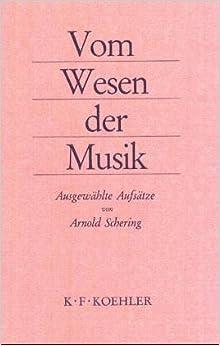 Book Vom Wesen der Musik: Ausgewählte Aufsätze