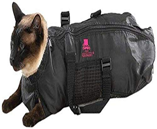 Top Performance Cat Grooming Bag, Small Size for 5 to 10 Pound Cats – Works for Bathing and Grooming Temperamental Cats