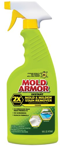 Mold Armor FG532 Instant Mold and Mildew Stain Remover, Trigger Spray 16-Ounce (Best Home Mold Removal Products)