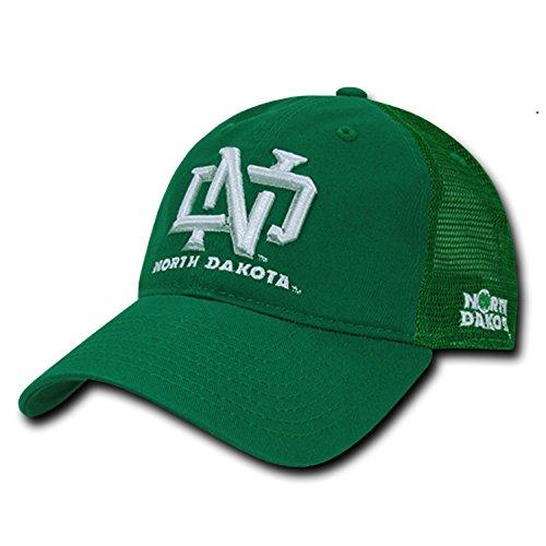 University of North Dakota UND Fighting Sioux Polo Relaxed Trucker Mesh Baseball Ball Cap Hat