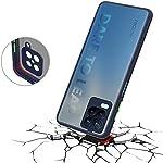 ZELFO Smoke Case 4 Side Full Protection Back Cover Case for Realme 8 (5G) – {Blue}