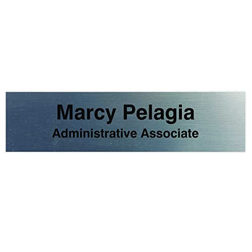 Custom Personalized Name Plate for Wall/Desk, 2