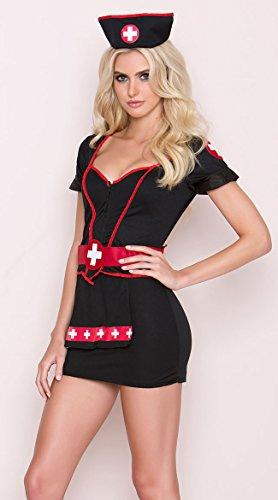 California Costumes Cardiac Arrest Set, Black,