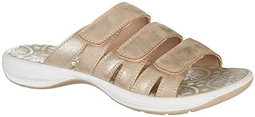 0328bb0b2 Coral Bay Womens Madi Sandals 7 Sand Beige