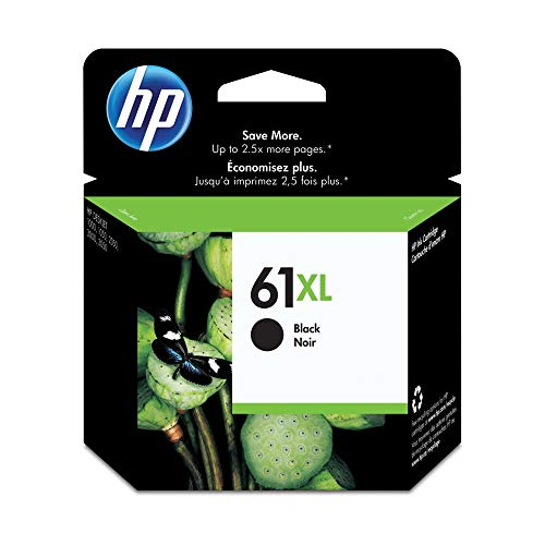 HP 61XL | Ink Cartridge | Black | CH563WN
