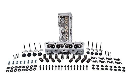 Cylinder Sbc Heads (SBC Aluminum Cylinder Head Assembly 64 cc Aluminum Heads (assembled) Pair)