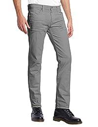ETHANOL Mens Slim Stretch Motion Flex Denim Five Pocket Jean