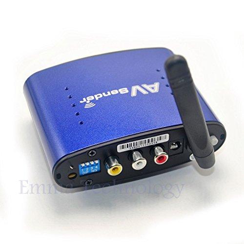 200M 5 8Ghz Wireless STB TV AV Audio Video Sender Transmitter