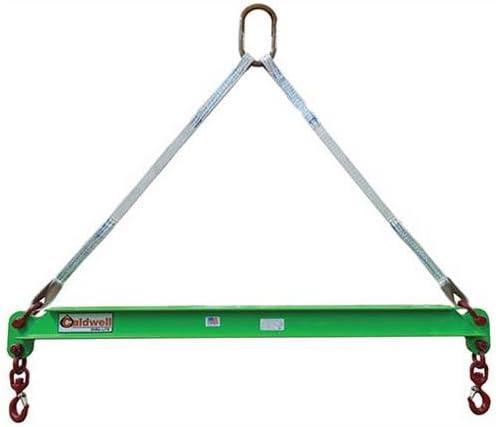 Caldwell 430-1//2-8 8 Hook Spread Composite Spreader Beam 1//2 Ton Capacity