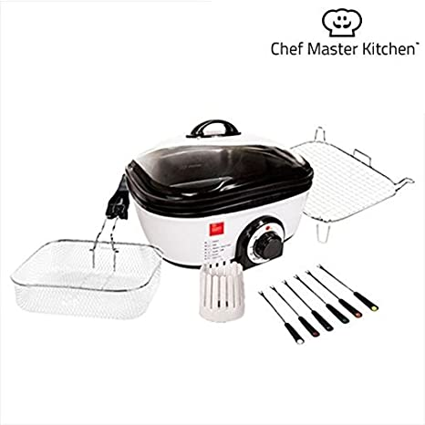 Chef Master Kitchen Quick Cooker Robot de cocina 1300 W – 6 ...