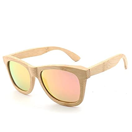 Lanbinxiang@ Producto Retro Hombres/Gafas de Sol de Madera ...