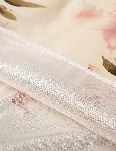 Tempo Shirts Camicetta blumen Rotondo Ragazza Bluse Libero Moda Manica Fiore Tops Collo White Eleganti Accogliente Estivi Corta Bluse Chic Sciolto Donna Leggero Modello BpfqO