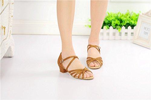 Miyoopark - salón mujer Brown-3.5cm Heel