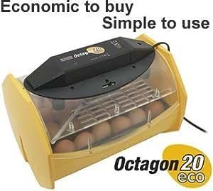 Brinsea Octagon 20 ECO Manual Turn Egg Incubator by Brinsea