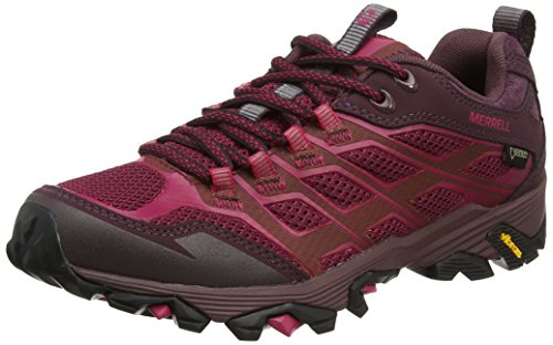 Beet Senderismo Merrell Moab GTX Fst Mujer para Rosa Red Zapatillas de Aw1zRwx