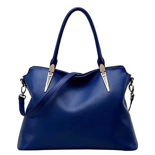 Frauen Trend Schulterbeutel Diagonales Paket Mode Handtasche,Blue-OneSize