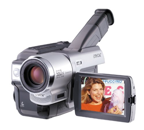 Sony CCDTRV98 Hi8 Camcorder 20X optical and 560x Digital Zoom (Discontinued by Manufacturer)