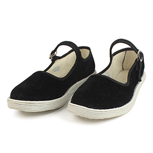 Public Dancing Yoga Qquare Shoes Womens Shoes Cotton Exercise Traditional FANGDA Chinese xwq0nZAz4