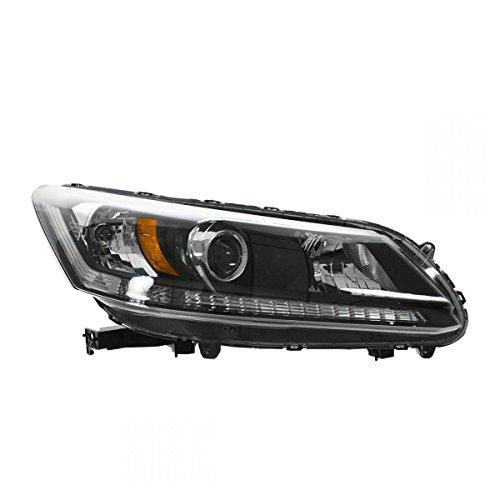 Honda Accord Rh Headlamp Light - Headlight Headlamp Halogen RH Right Passenger for 13 Honda Accord 4 door sedan