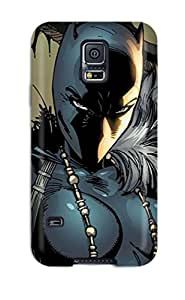 Tpu Shockproof Dirt Proof Black Panther Cover Case For Galaxy S5
